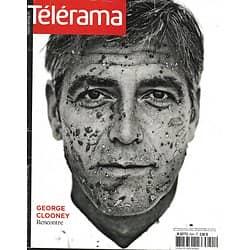TELERAMA n°3041 23/04/2008   George Clooney/ Haneke/ BBC/ Césaire/ Fleurus