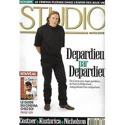 STUDIO n°104 novembre 1995  Gérard Depardieu/ Jack Nicholson & Sean Penn/ Emir Kusturica/ Kevin Costner