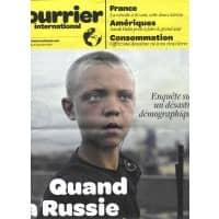 COURRIER INTERNATIONAL N°1056 BIS 27/01/2011 DEMOGRAPHIE RUSSIE