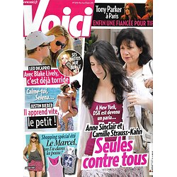 VOICI n°1230 04/06/2011  Affaire DSK/ Anne Sinclair/ Blake Lively/ Justin Bieber/ Tony Parker/ Stars control freaks