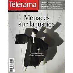 TELERAMA n°3203 04/06/2011  Menaces sur la justice/ Pina Bausch/ Sfar/ Consigny