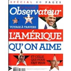 LE NOUVEL OBSERVATEUR n°2502 18/10/2012  Spécial Etats-Unis/  Voyage aux USA