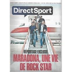 DIRECT SPORT n°17 20/05/2011 Diego Maradona/ Gignac/ Djokovic & Nadal/ Gasquet/ Usain Bolt/ Jean Reno/ Ryder Cup