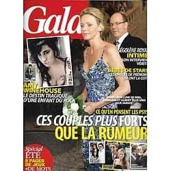 GALA n°946 27/07/2011  Couples de stars & rumeurs/ Amy Winehouse/ Jannifer Lopez/ Tommy Hilfiger/ Zoe Saldana