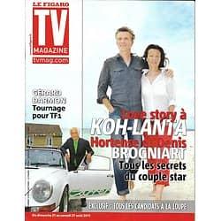 TV MAGAZINE n°20854 20/08/2011 Denis Brogniart/ Koh-Lanta/ Gérard Darmon/ McCord
