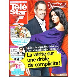 TELE STAR n°1902 16/03/2013  Jenifer & Garou -The Voice/ Thierry Le Luron/ Thierry Marx/ Michael Emerson/ Agnès Jaoui