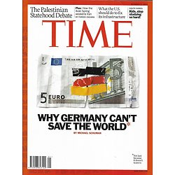 TIME VOL.178 n°13 03/10/2011  Why Germany can't save the world/ Palestinian state