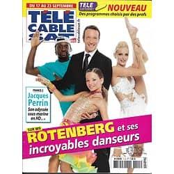 Télé Cable Sat n°1115 17/09/2011 Stéphane Rotenberg/ Jacques Perrin/ Kirsten Dunst/ Maxime Le Forestier