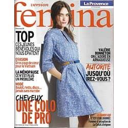 VERSION FEMINA n°518 05/03/2012  Robes de Jour/ Valérie Bonneton/ Autorité/ Coloration