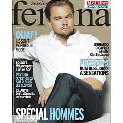 VERSION FEMINA n°510 07/01/2012  Leonardo Dicaprio/ Spécial Hommes/ Paternité/ Eastwood
