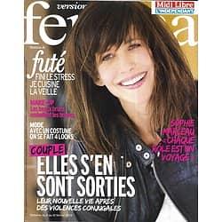 VERSION FEMINA n°566 04/02/2013  Sophie Marceau/ Vie après Violences Conjugales/ Cuisiner la veille
