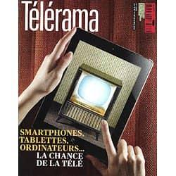 TELERAMA n°3282 08/12/2012  La multiplication des écrans/ L'AFP/ Marina Abramovic/ Christophe Rousset