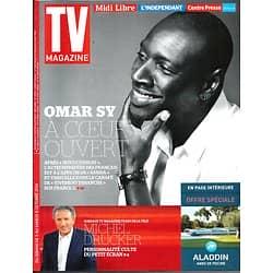 "TV MAGAZINE n°21821 05/10/2014  Omar Sy/ Cyril Lignac/ 66 ans de télé/ ""Homeland"""
