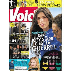 VOICI n°1251 29/10/2011 Maïwenn & Joey Starr/ Mélanie Laurent/ Madonna/ Johnny Depp/ Prince Harry/ Stars relookées