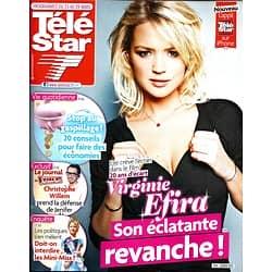 TELE STAR n°1903 23/03/2013  Virgine Efira/ C.Willem/ Lizarazu/ Kristen Stewart/ Marc Levy