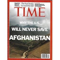 TIME VOL.178 n°16 14/10/2011  Afghanistan: unwinnable war/ Clooney