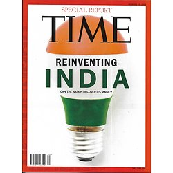 TIME VOL.180 n°18 29/10/2012   Special report: reinventing India/ Art & Activism