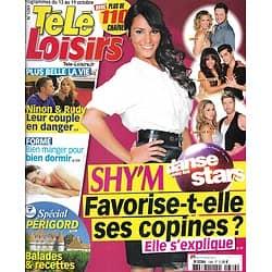 "TELE LOISIRS n°1389 13/10/2012  Shy'm ""Danse avec les stars""/ Spécial Périgord/ Roselyne Bachelot/"" XIII"""