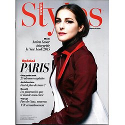 L'EXPRESS STYLES N°3316 21 JANVIER 2015  AMIRA CASAR/ SPECIAL PARIS