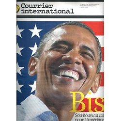 COURRIER INTERNATIONAL n°1149 08/11/2012  Obama re-election/ BSF-Inde/ Mali/ Corruption Pékin