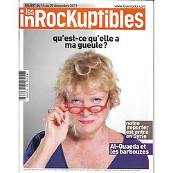 LES INROCKUPTIBLES n°837 14/12/2011  Eva Joly/ Reportage en Syrie/ Martin Scorsese