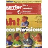 COURRIER INTERNATIONAL N°1101 8/12/2011 LES PARISIENS VUS DE L'ETRANGER