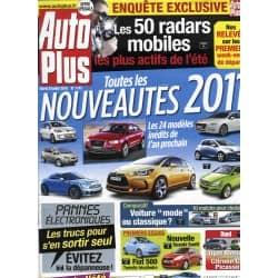 AUTO PLUS n°1141 20/07/2011  NOUVEAUTES 2011/ BUGS ELECTRONIQUES/ RADARS MOBILES