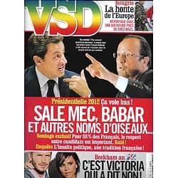 VSD n°1794 12/01/2012  Respect entre Candidats de la Présidentielle/ Hongrie/ Les Beckham