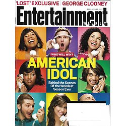 "ENTERTAINMENT WEEKLY n°930 13/04/2007  ""American Idol""/ Tim McGraw/ Rachel Griffiths"