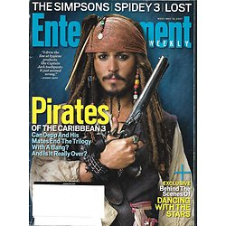 ENTERTAINMENT WEEKLY n°934 18/05/2007  Johnny Depp-Pirates of Caribbean 3/ Ashley Judd/ The Simpsons