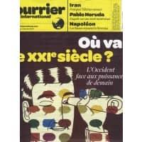 COURRIER INTERNATIONAL N°1105 5/01/2012  DECLIN OCCIDENT/ NERUDA/ FUKUSHIMA