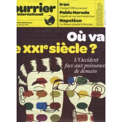 COURRIER INTERNATIONAL n°1105 5/01/2012  DECLIN OCCIDENT/ NERUDA/ FUKUSHIMA