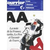 COURRIER INTERNATIONAL N°1107 19/01/2012  LA FRANCE PERD SON TRIPLE A