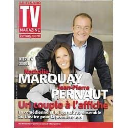 TV MAGAZINE n°20991 29/01/2012  Jean-Pierre Pernaut & Nathalie Marquay/ Muriel Robin