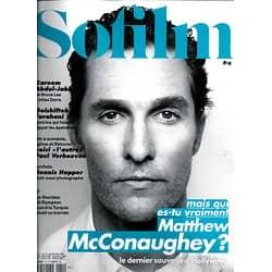 SOFILM n°19 avril 2014   Matthew McConaughey/ Verhoeven/ Farahani/ Hopper