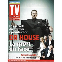 TV MAGAZINE n°21086 18/05/2012  Dr House- Hugh Laurie/ Bernard Tapie/ Animateurs TV