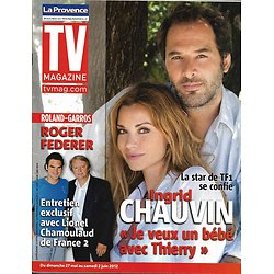 TV MAGAZINE n°21092 25/05/2012  Ingrid Chauvin/ Roger Federer/ Will Smith