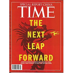 TIME VOL.179 n°24 18/06/2012  Special China/ Afghanistan silk road/ Global slowdown