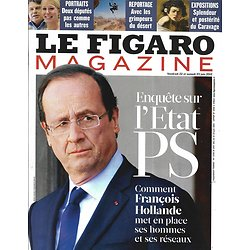 LE FIGARO MAGAZINE n°21116 22/06/2012  Enquête: l'état Ps/ Le Caravage/ Newport/ Désert Wadi Rum/ Paimpol: énergie bleue