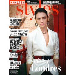 L'EXPRESS STYLES n°3182 27/06/2012  Spécial Londres/ Jennifer Lopez/ Kate Winslet/ Keira Knightley