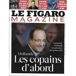 LE FIGARO MAGAZINE n°21305 01/02/2013  Hollande: les copains d'abord/ Daniel Day-Lewis/ Eton, excellence anglaise/ Hawaï, chasseurs de lave