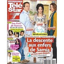 """TELE STAR n°1904 30/03/2013  """"Plus belle la vie""""/ """"Les feux de l'Amour""""/ Lambert Wilson/ Menu de Pâques par Piège"""