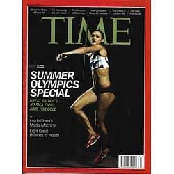 TIME VOL.180 n°5 30/07/2012  Summer Olympics Special/ Lolo Jones/ Michael Phelps/ Gaby Douglas
