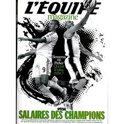L'EQUIPE MAGAZINE N°1599 9 MARS 2013  SPECIAL SALAIRES DES CHAMPIONS