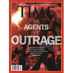 TIME VOL.180 n°13  24/09/2012  Agents of outrage in Middle East/ China/ Rwanda