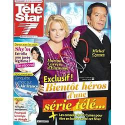TELE STAR n°1884 10/11/2012  Michel Cymes/ Shy'm/ Air France/ Sylvie Vartan/ Dany Boon
