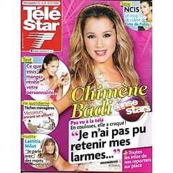 TELE STAR n°1881 20/10/ 2012  Chimène Badi/ Laëtitia Milot/ Cote De Pablo-200è de NCIS/ Doug Savant