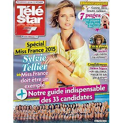 TELE STAR n°1992 06/12/2014  Spécial Miss France 2015/ Sylvie Tellier/ Kate Middleton/ Errol Flynn/ Hélène Ségara
