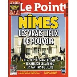 LE POINT n°2106 24/01/2013  Nîmes: les vrais lieux de pouvoir/ Ennemis Islamistes au Mali/ Spielberg & Lincoln