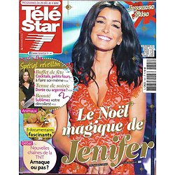 TELE STAR n°1891 29/12/2012  Jenifer/ Spécial Réveillon/ Claire Keim/ Olivia Ruiz/ Antoine